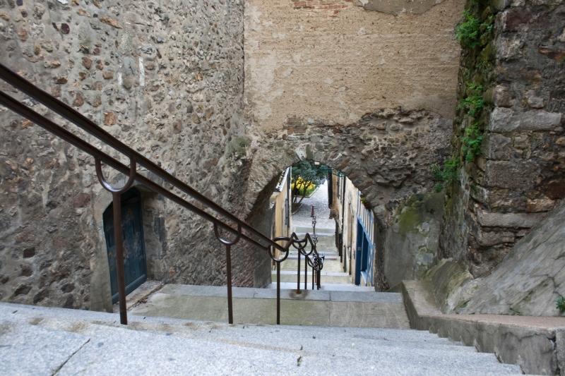 Le Vieux Mans - Escalier de la Grande Poterne (Source Internet, Dentiss)