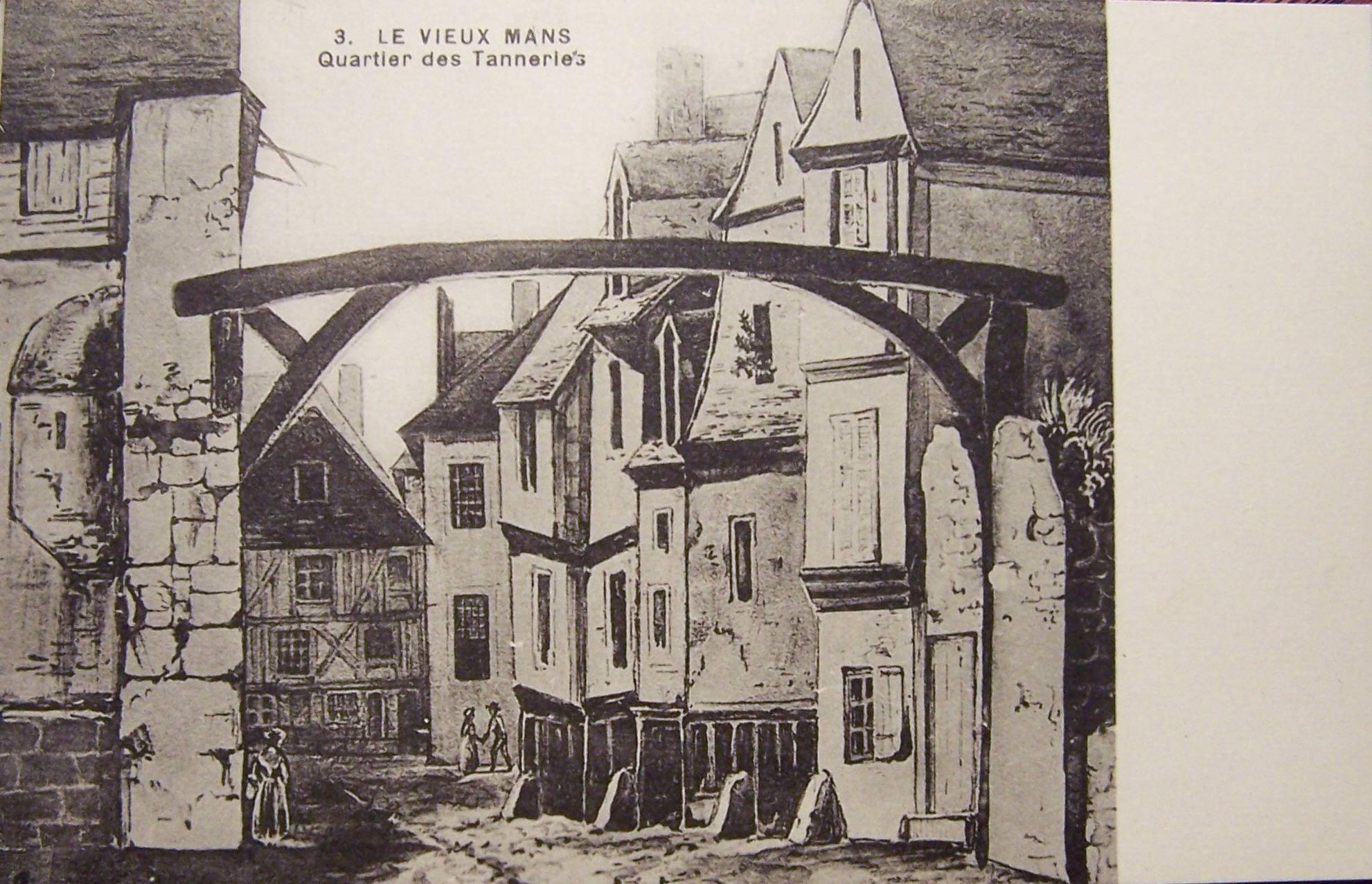Le Vieux Mans - Quartier des Tanneries