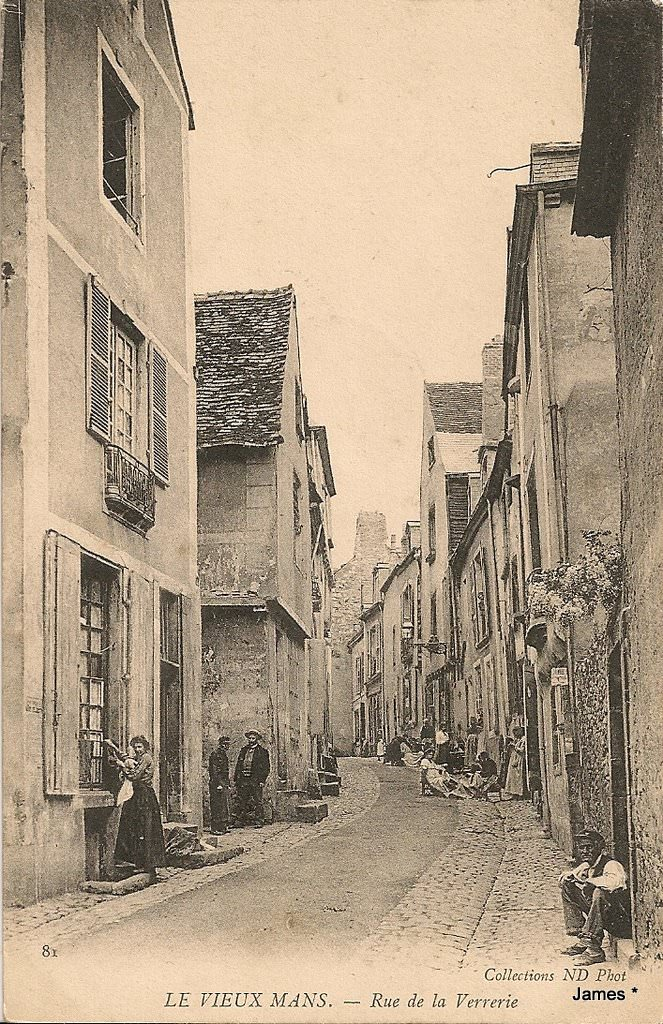 Le Vieux Mans - Rue de la Verrerie