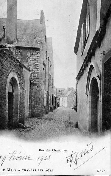 Le Vieux Mans - Rue des Chanoines