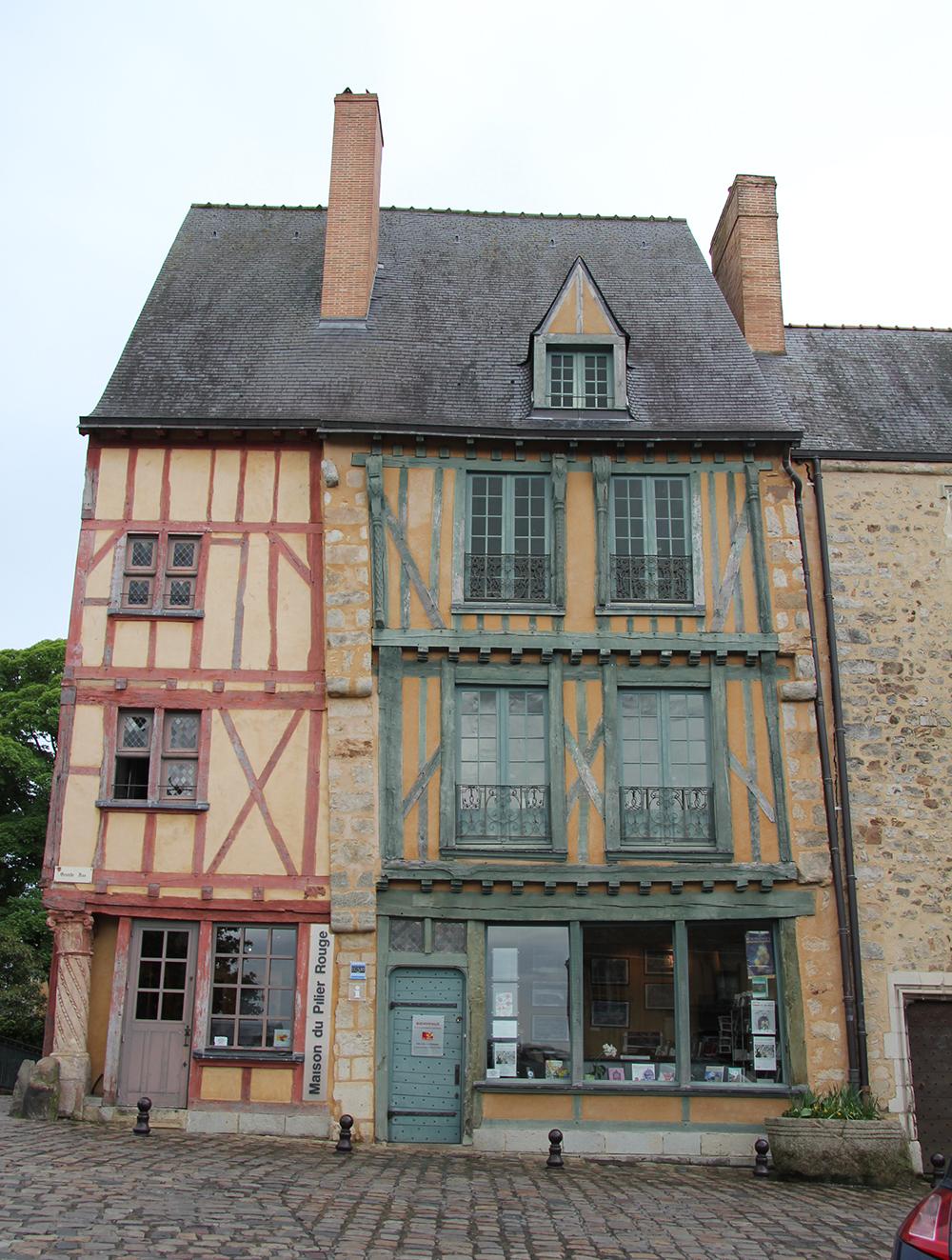 Le Vieux Mans en 2017 - Grande Rue - Maison du Pilier rouge (Sylvie Leveau)