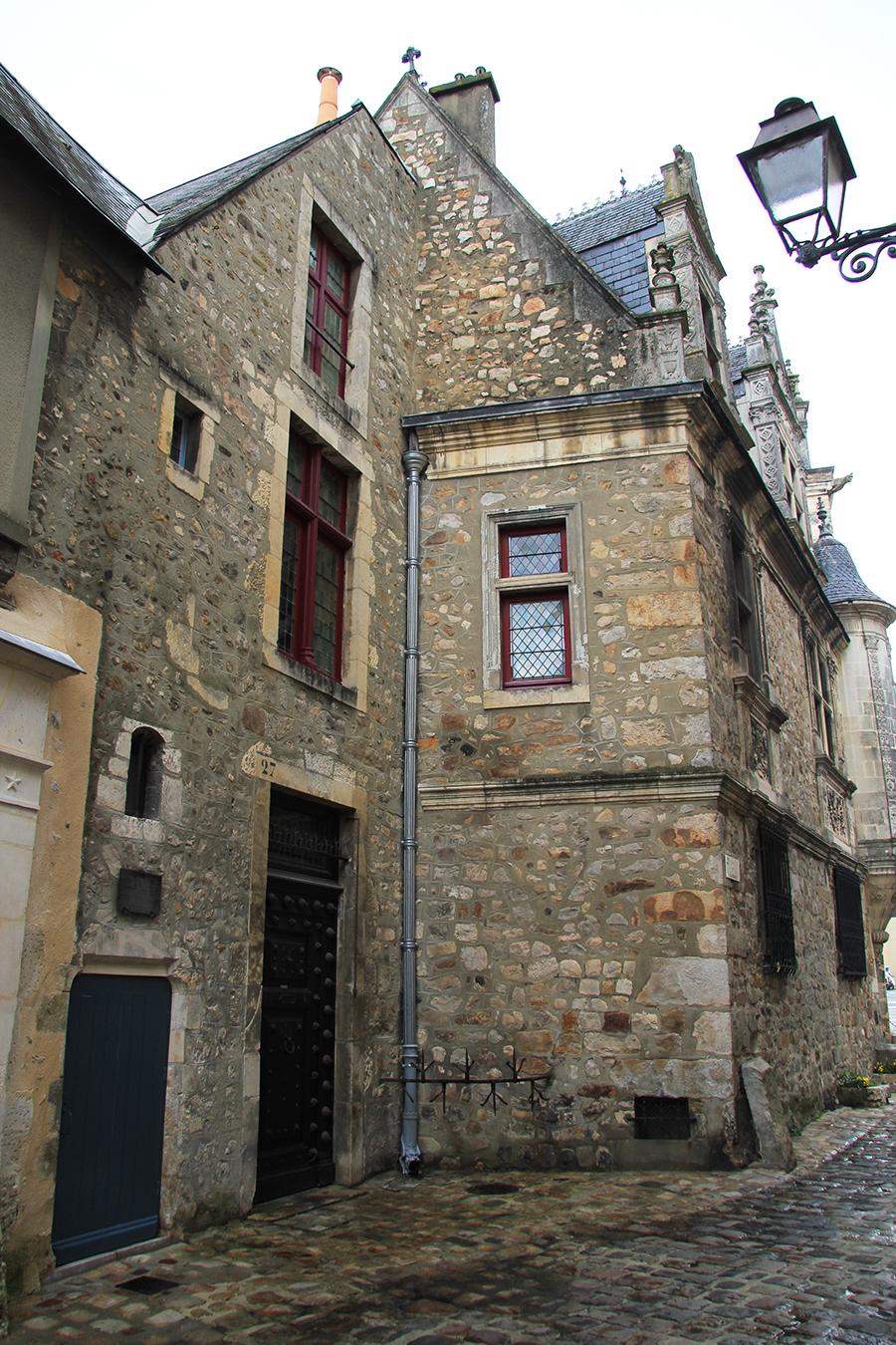 Le Vieux Mans en 2017 - Rue des Chanoines - Maison à la tourelle ou Maison Saint Paul 03 (Sylvie Leveau)