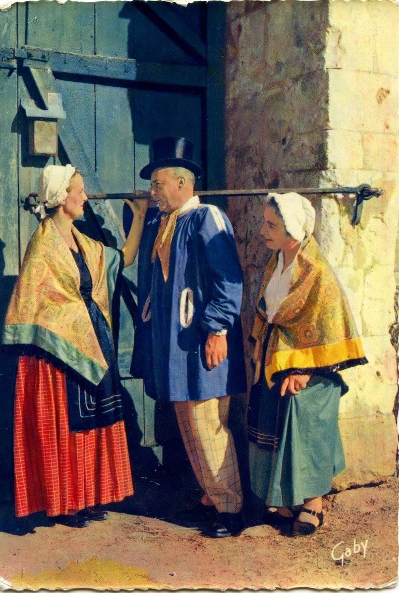 Au quotidien - Art de vivre et costumes - Groupe folklorique la Gouline