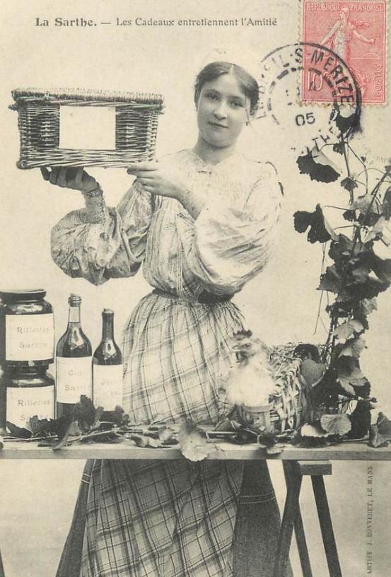 Au quotidien - Art de vivre et costumes - La Sarthe - Les Cadeaux entretiennent l'Amitié