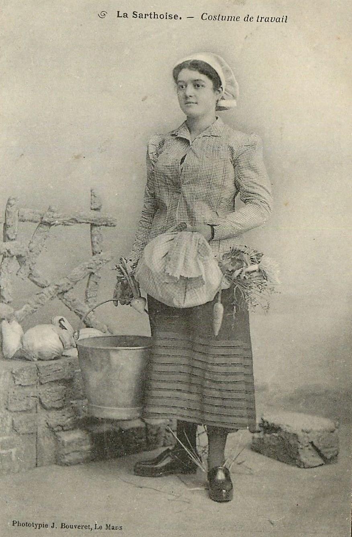 Au quotidien - Art de vivre et costumes - La Sarthoise - Costume de travail