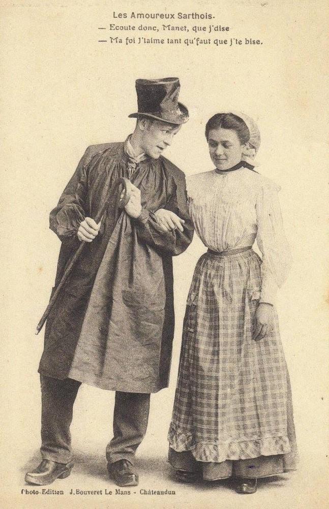 Au quotidien - Art de vivre et costumes - Les Amoureux Sarthois