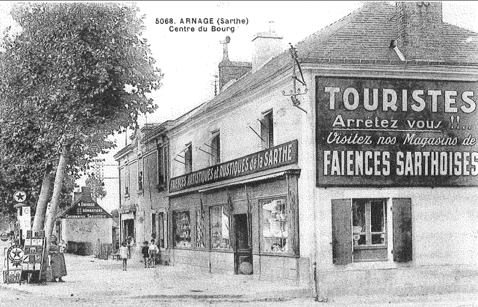Arnage - Centre du Bourg