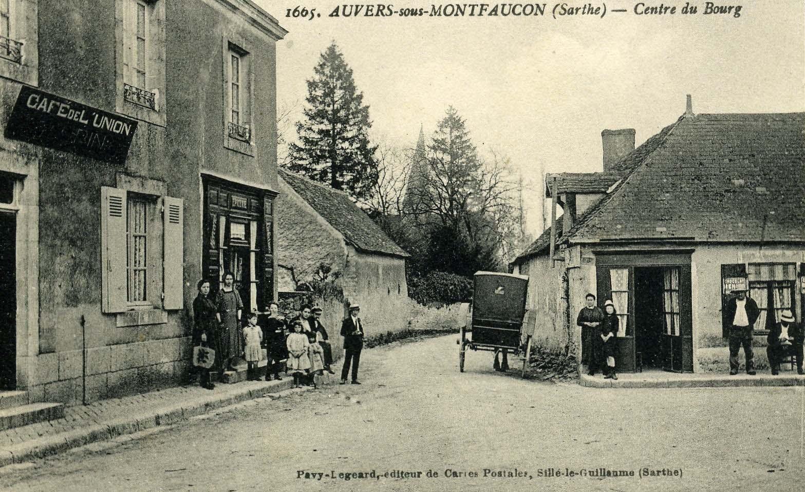 Auvers sous Montfaucon - Centre du Bourg 01