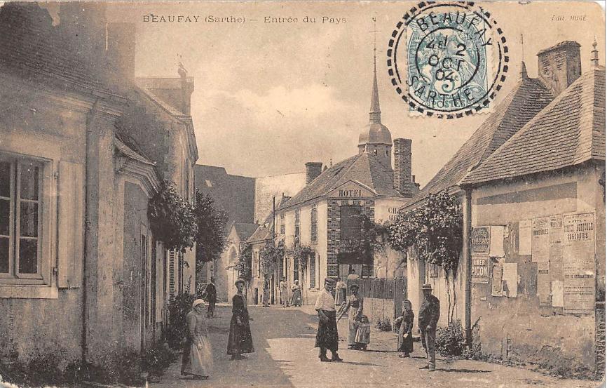 Beaufay - Entrée du Pays