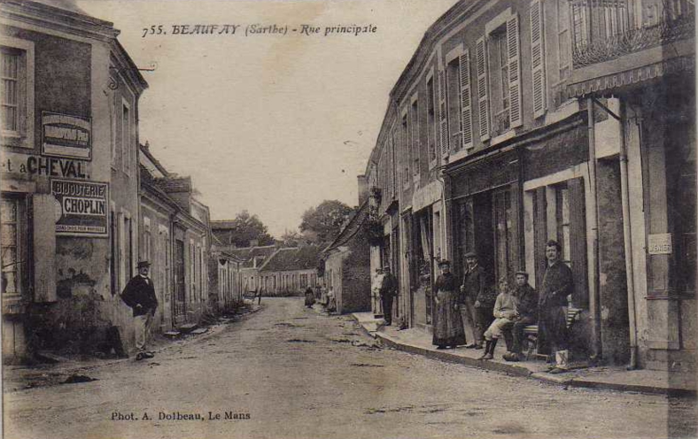 Beaufay - Rue principale