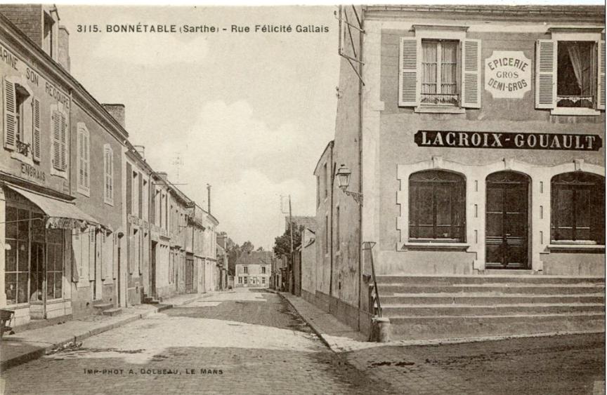 Bonnétable - Rue Félicité Gallais