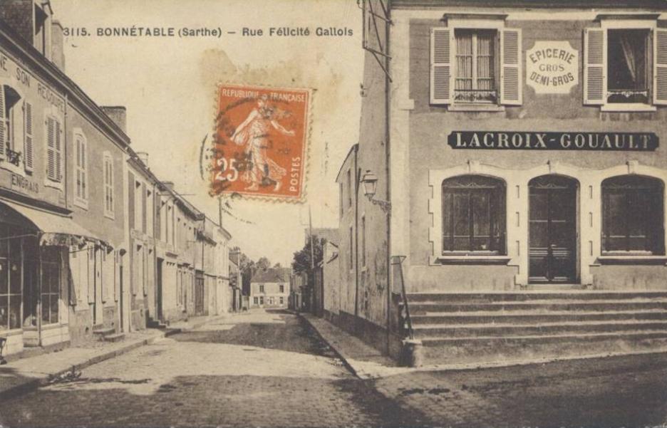 Bonnétable - Rue Félicité Gallois