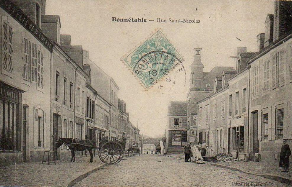 Bonnétable - Rue Saint Nicolas 01
