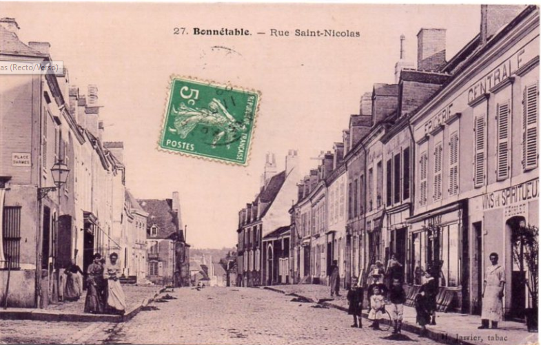 Bonnétable - Rue Saint Nicolas 02