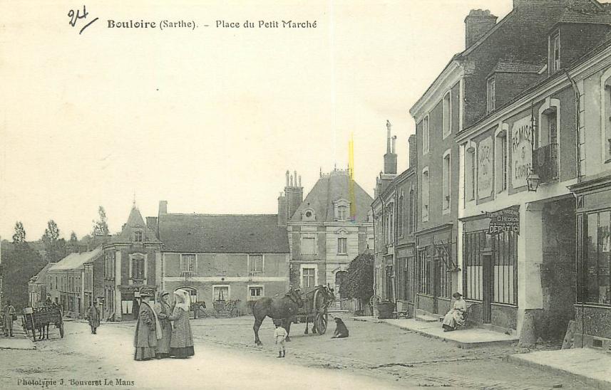 Bouloire - Place du Petit Marché