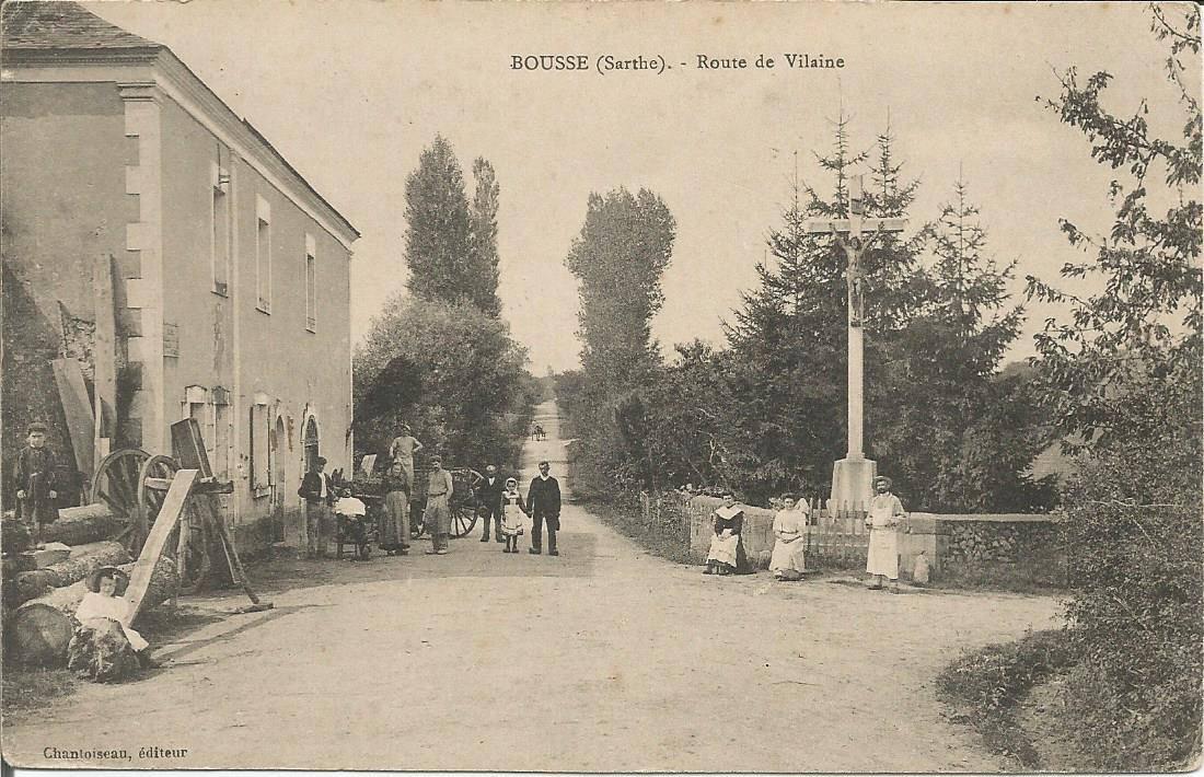 Bousse - Route de Vilaine