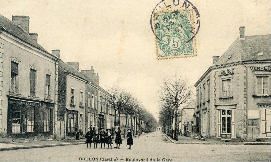 Brûlon - Boulevard de la Gare