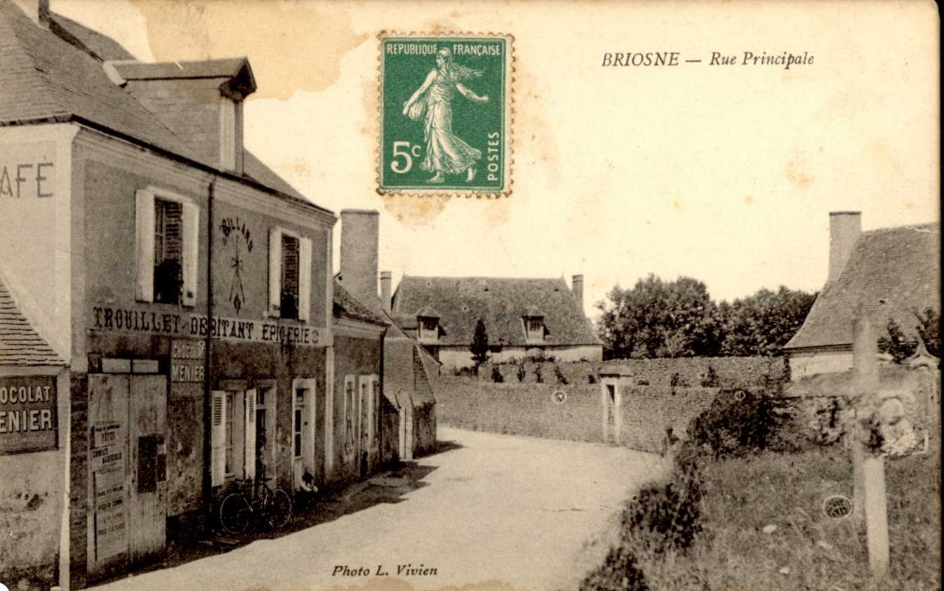 Briosne - Rue Principale