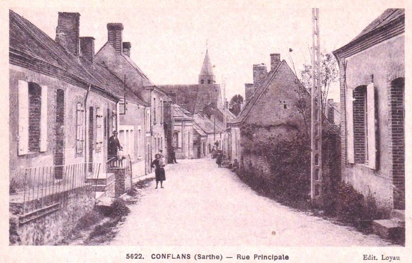 Conflans - Rue Principale