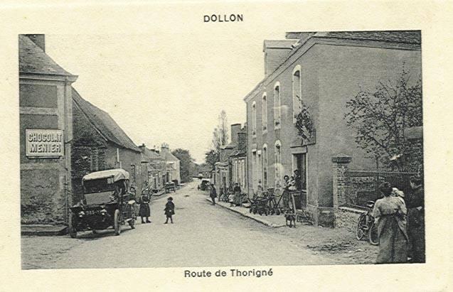 Dollon - Route de Thorigné 01