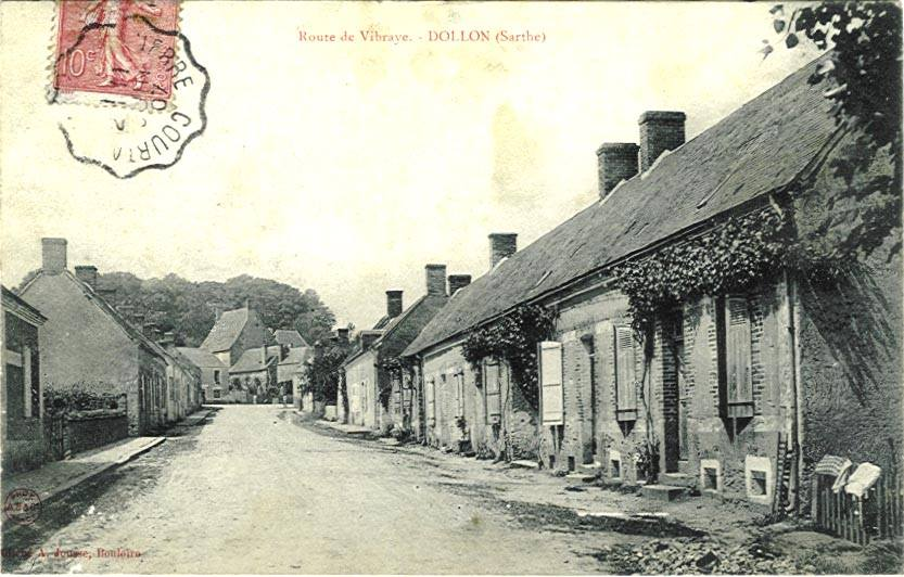 Dollon - Route de Vibraye 01
