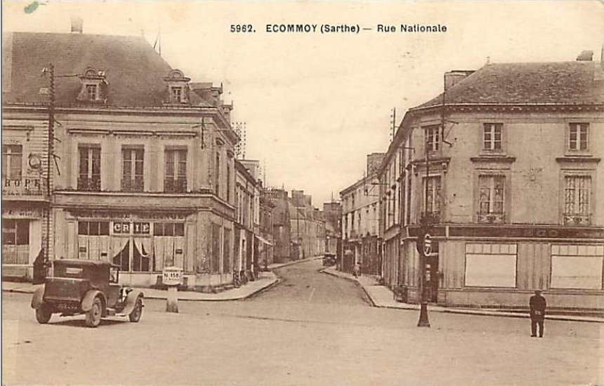Ecommoy - Rue Nationale 02