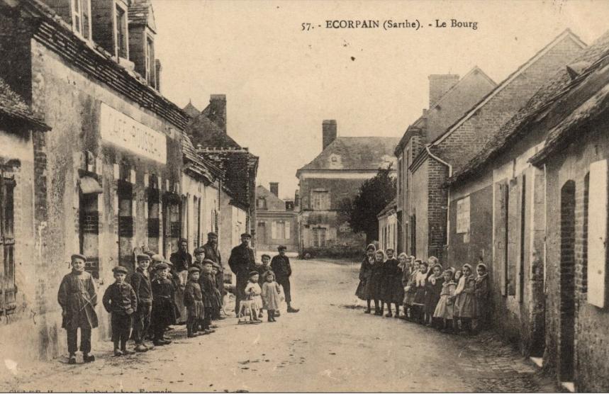 Ecorpain - Le Bourg