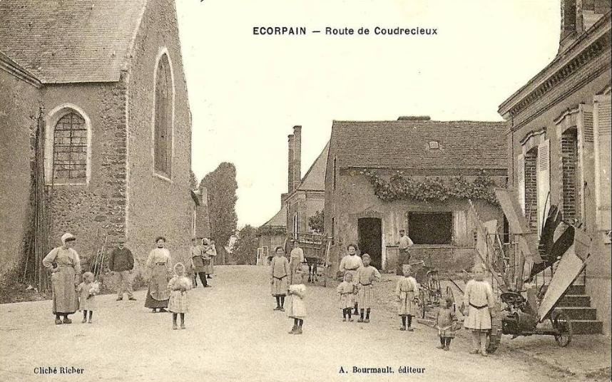 Ecorpain - Route de Coudrecieux