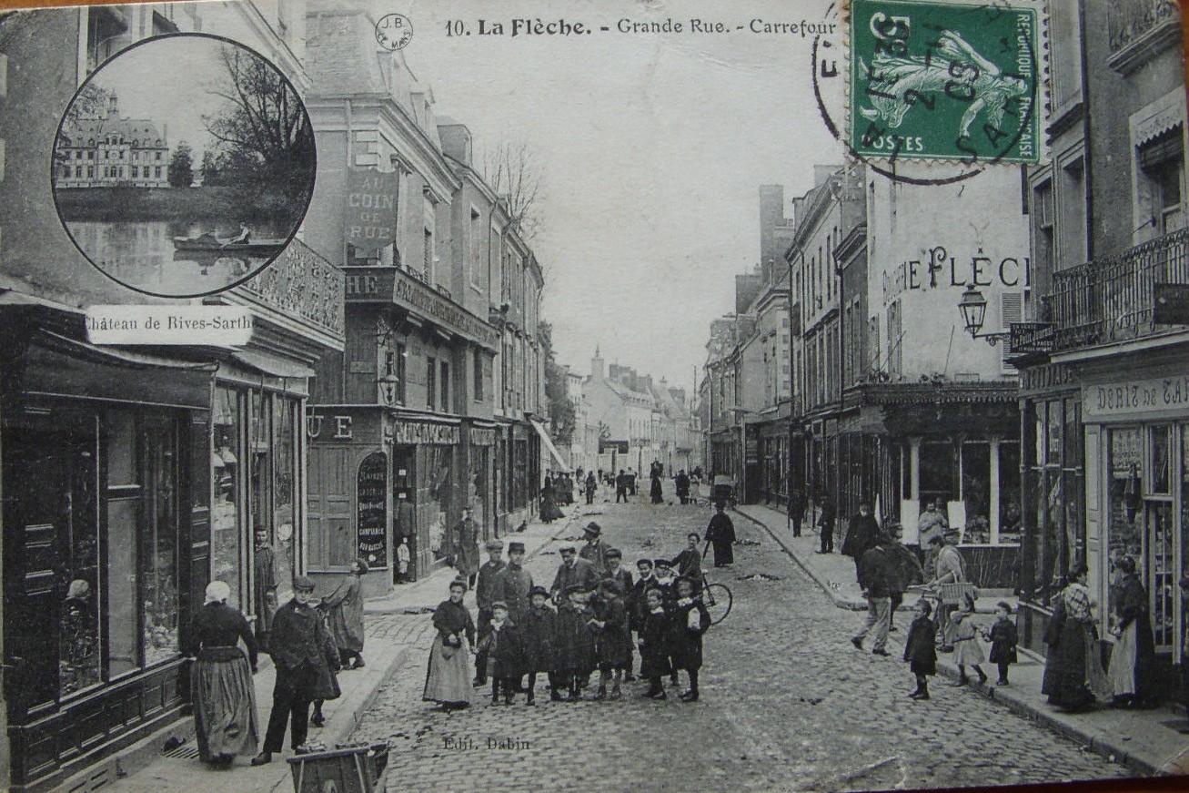 La Flèche - Grande Rue