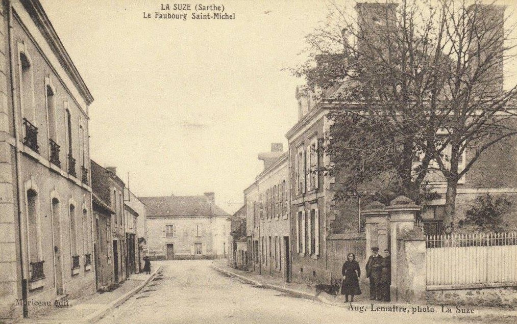 La Suze - Le Faubourg Saint Michel