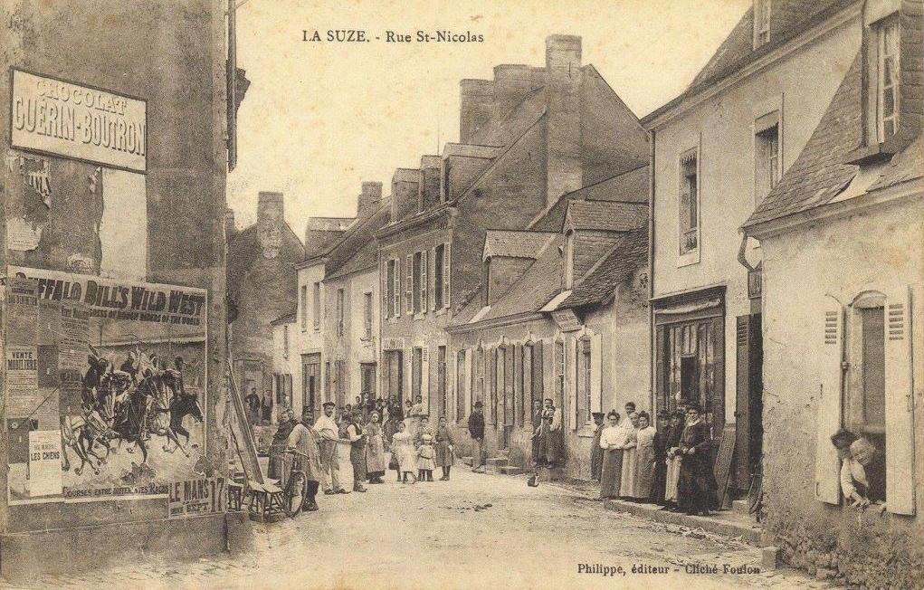 La Suze - Rue Saint Nicolas