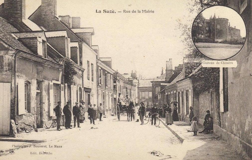 La Suze - Rue de la Mairie