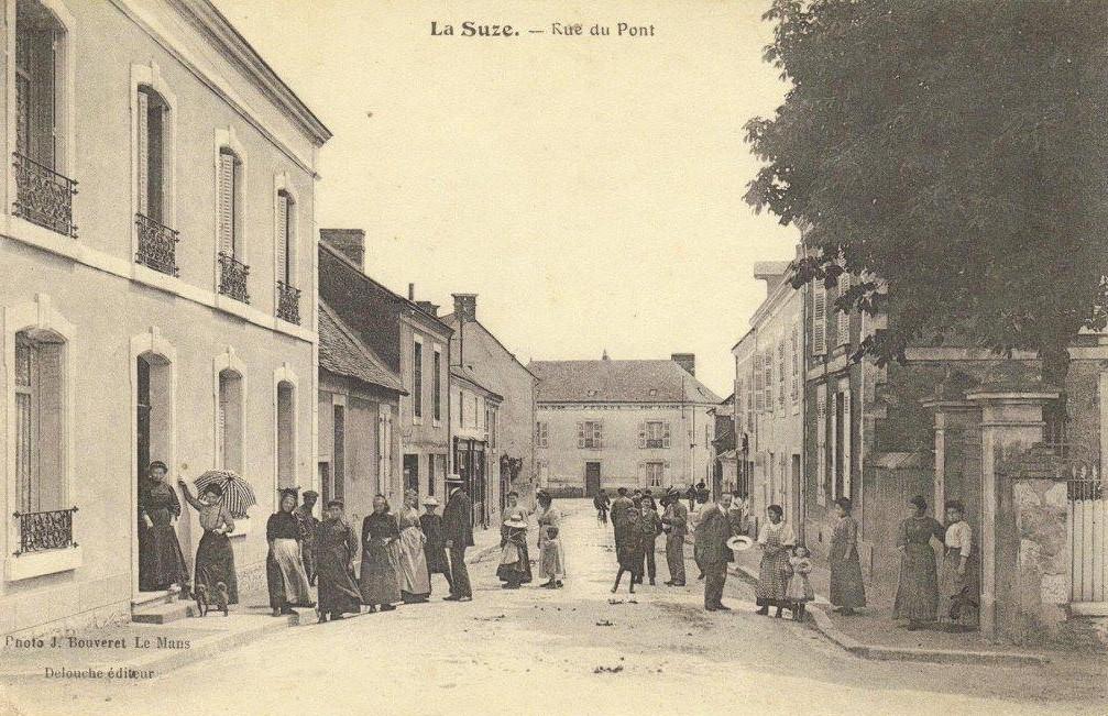 La Suze - Rue du Pont