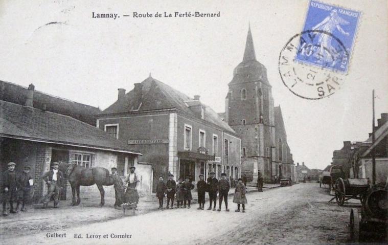 Lammay - Route de La Ferté Bernard