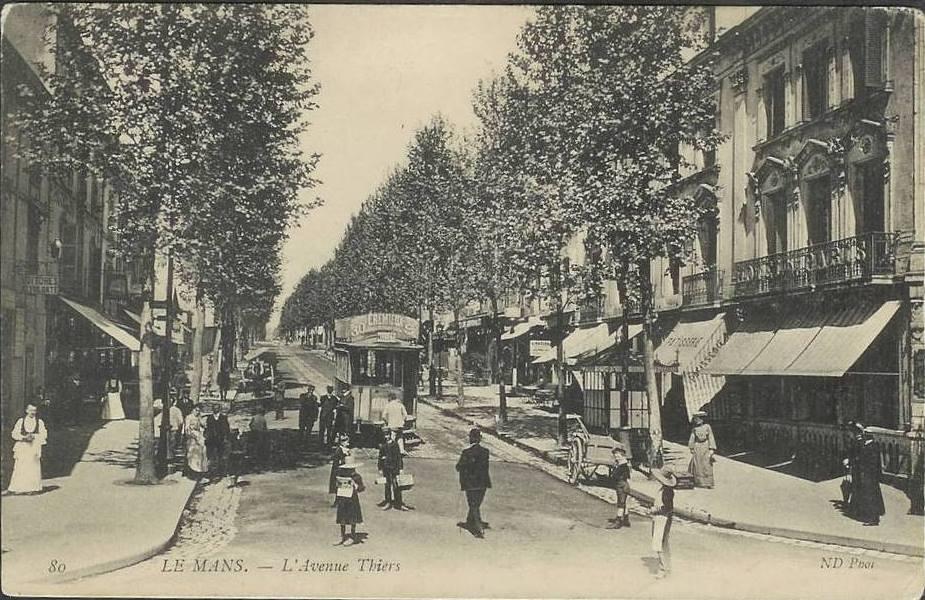 Le Mans - L'Avenue Thiers