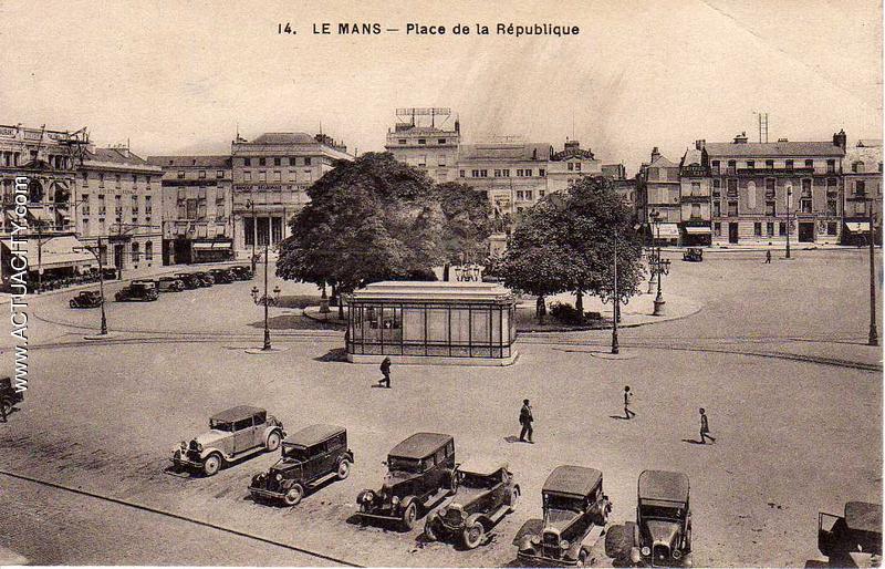 Le Mans - Place de la République