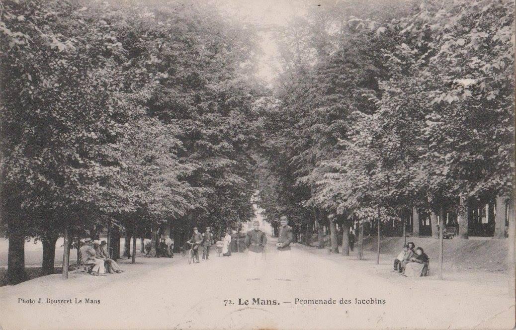 Le Mans - Promenade des Jacobins