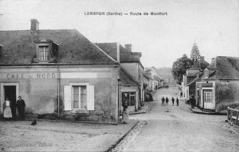 Lombron - Route de Montfort