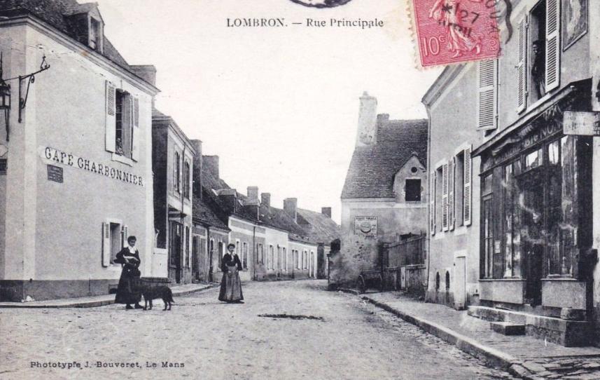 Lombron - Rue Principale