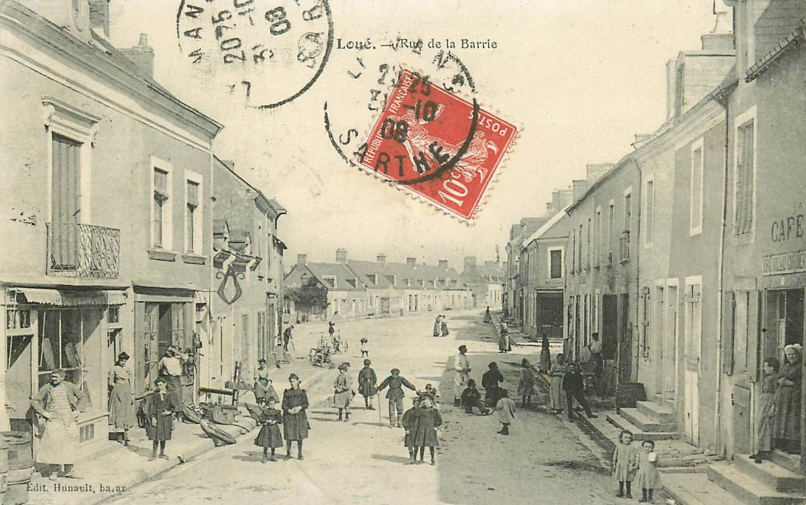 Loué - Rue de la Barrie