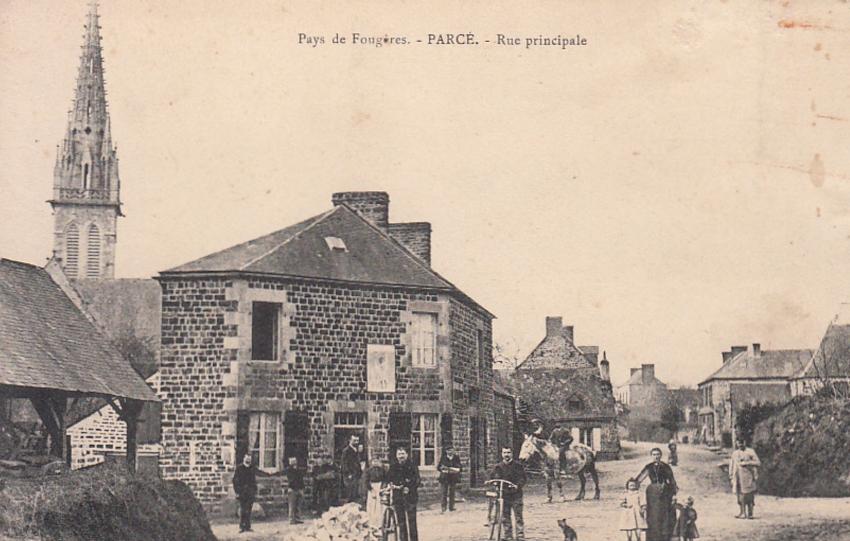 Parcé - Rue principale
