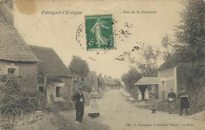 Parigné l'Evêque - Rue de la Fontaine