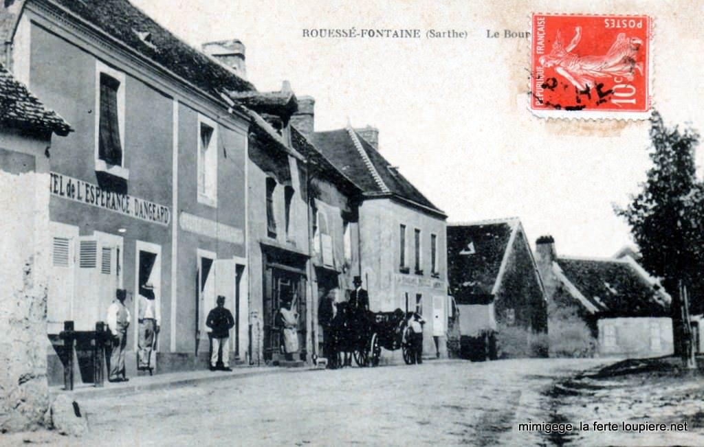 Rouessé Fontaine - Le Bourg