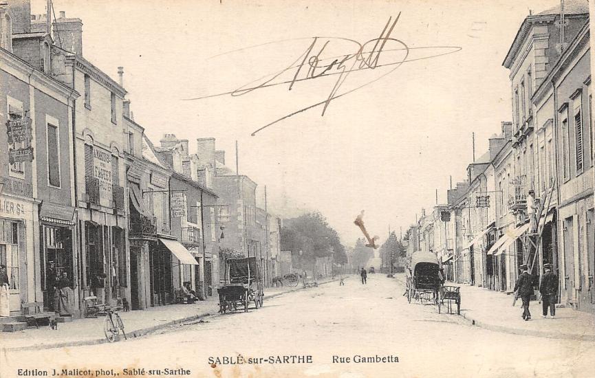Sablé sur Sarthe - Rue Gambetta