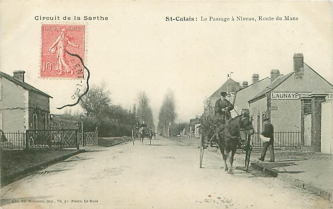 Saint Calais - Le Passage à Niveau, Route du Mans