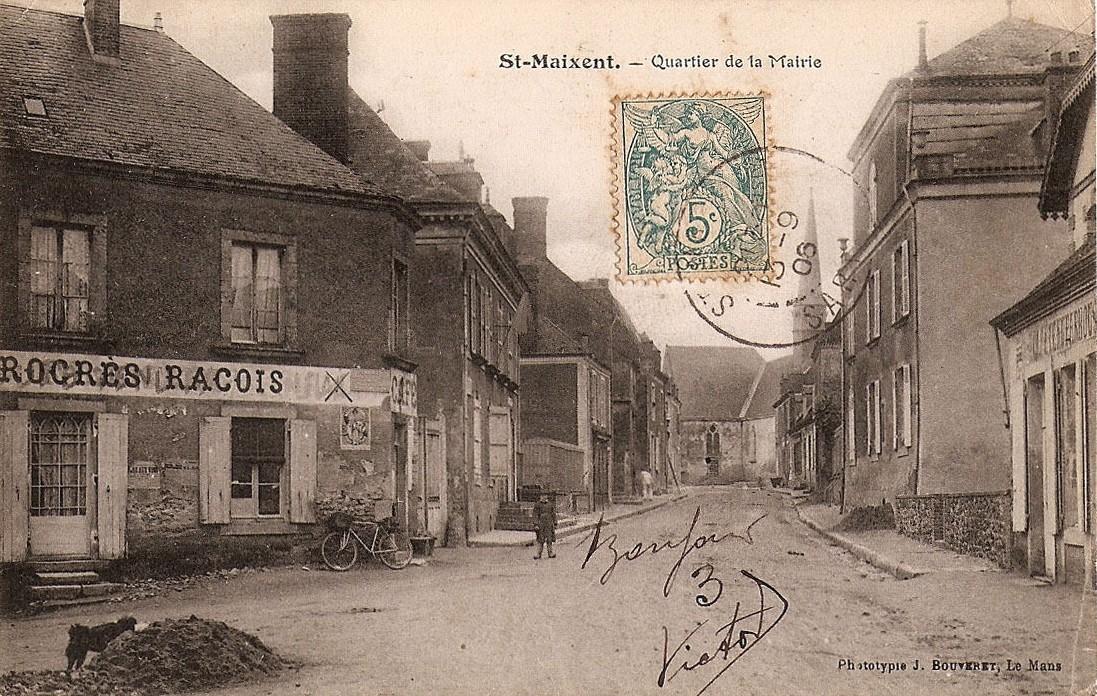 Saint Maixent - Quartier de la Mairie