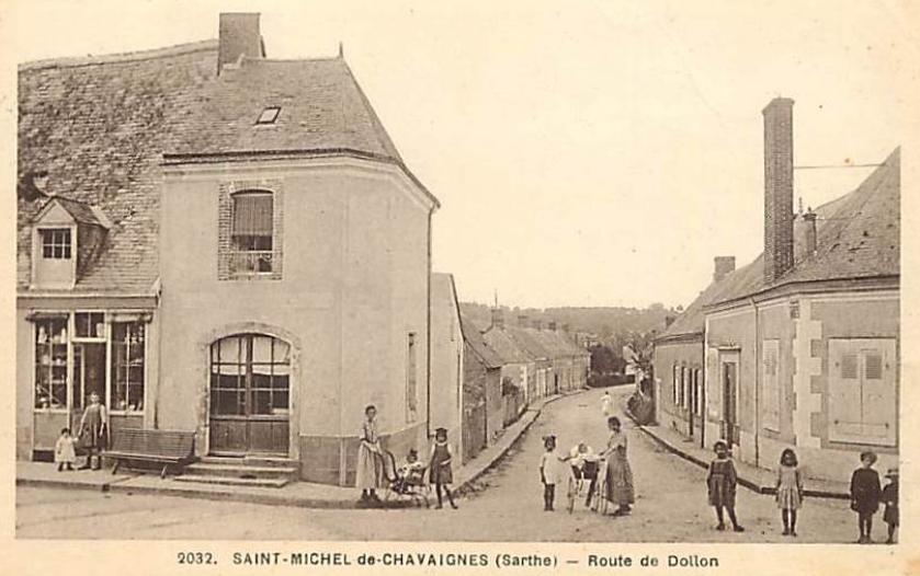 Saint Michel de Chavaignes - Route de Dollon