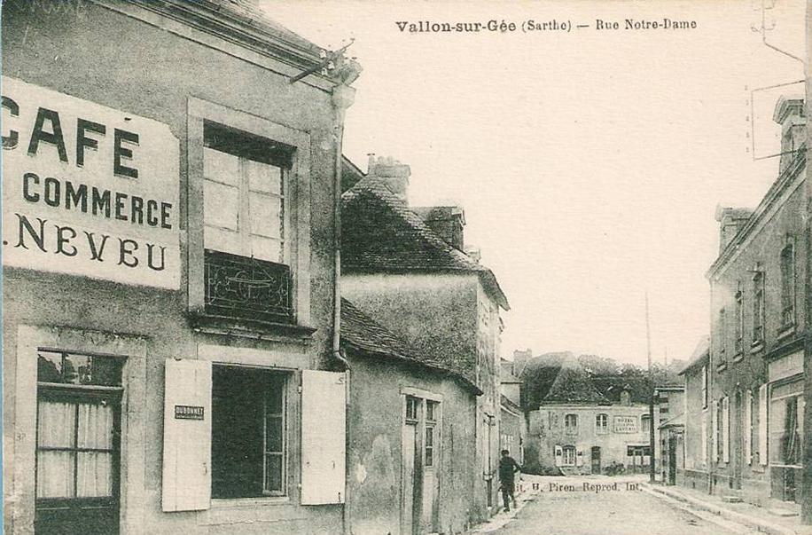 Vallon sur Gée - Rue Notre-Dame