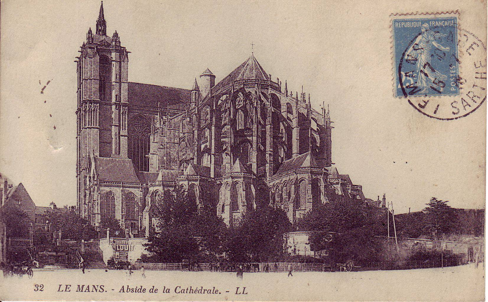 Le Mans - Cathédrale Saint Julien - Abside de la Cathédrale