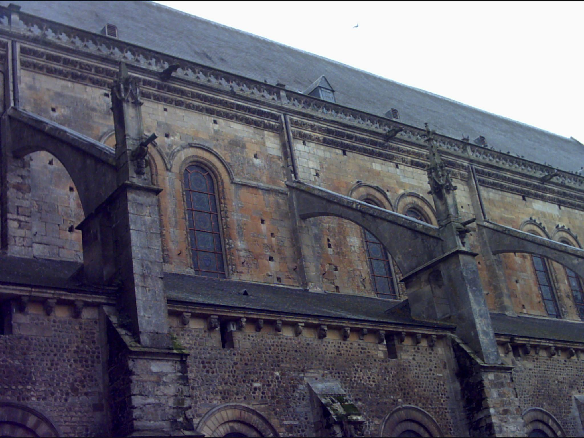 Le Mans en 2004 - Cathédrale Saint Julien 07